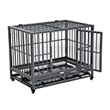 "Best Heavy Duty Dog Crates - PawHut 36"" Heavy Duty Steel Dog Crate Kennel Review"