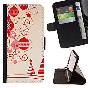 Jordan Colourful Shop - brown christmas decorations tree For Apple Iphone 5C - Leather Case Absorci???¡¯???€????€?????????