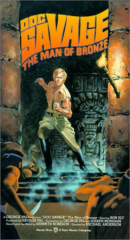Doc Savage: The Man of Bronze [USA] [VHS]: Amazon.es: Ron Ely ...