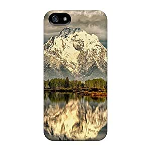Snap On Case Cover Skin For Iphone 5/5s(mount Moran)