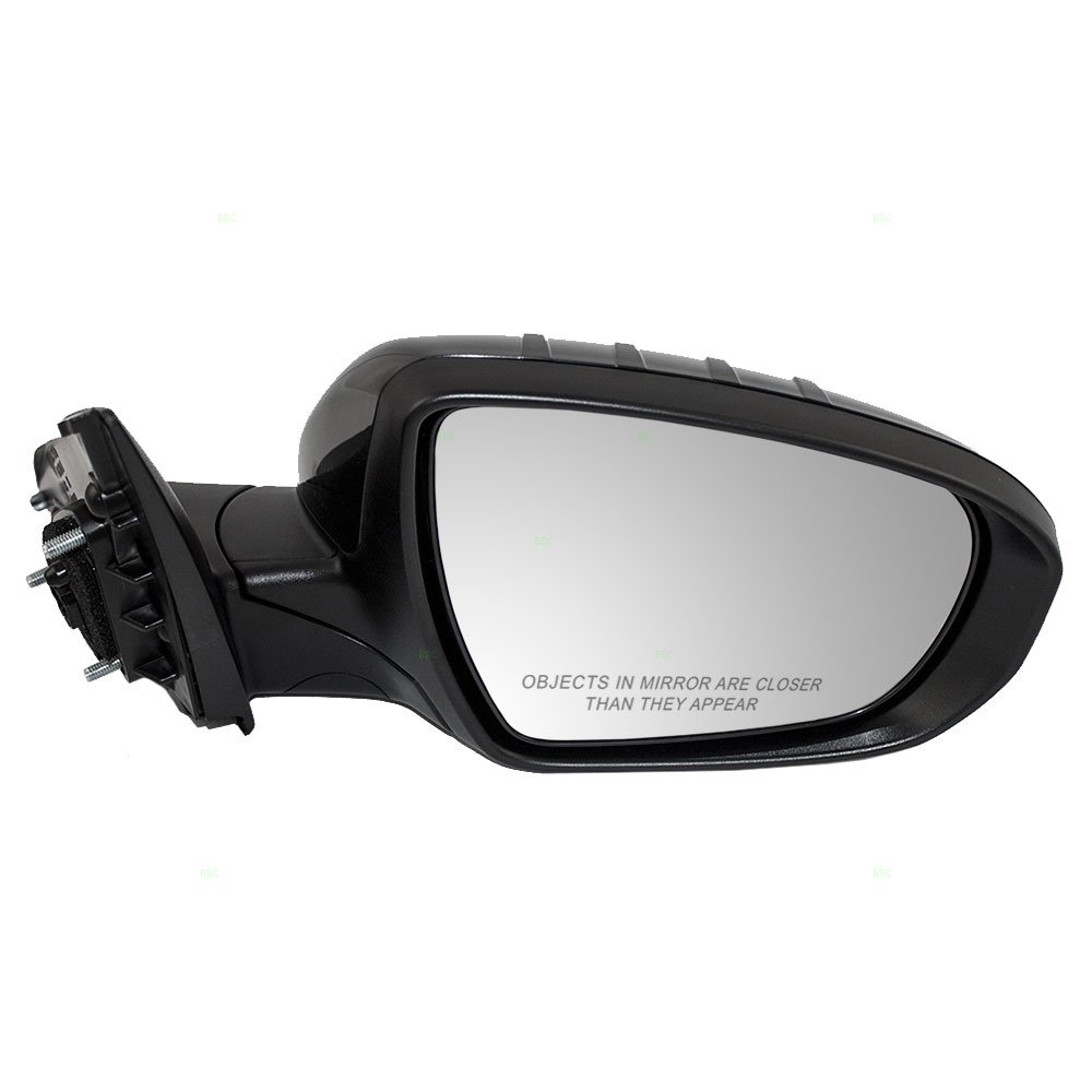 Passengers Power Side View Mirror Heated Signal Power Folding Replacement for Kia 87620-4C510 AUTOANDART