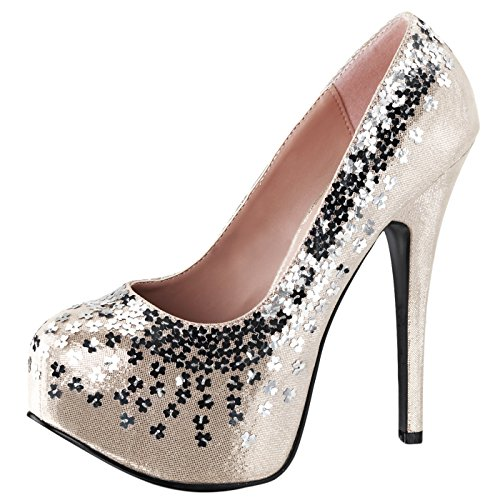 Fabulicious - Always in the Spotlight Plateau Pumps Teeze-06SQ
