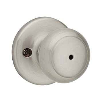Cove Privacy Door Knob Finish: Satin Nickel