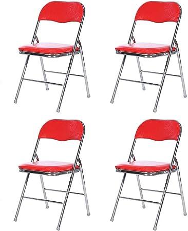 LBYMYB Chaise Pliante Fer Cadre Ordinateur Chaise