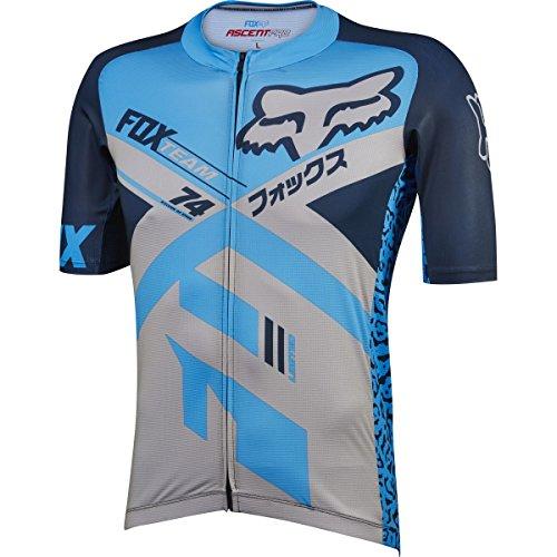 Fox Racing Ascent Pro Jersey - Short Sleeve - Men's Blue, L ()