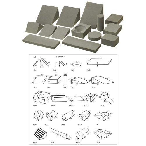 ポジショニングブロック三角(大) ORP-830-1(45/45/90) (24-4803-00)【オリオン電機】[1個単位]   B06X18ZMWD