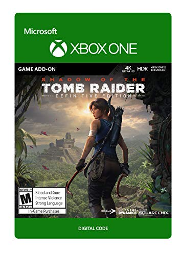 Shadow of the Tomb Raider: Definitive Edition Extra Content - [Xbox One Digital Code]