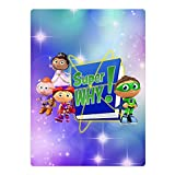 Kid's Super Why Microfiber Large Beach-Towel Pool-Towel,Easy Care,Maximum Softness And Absorbency
