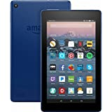 Fire 7 Tablet with Alexa, 7' Display, 8 GB, Marine Blue - with Special Offers