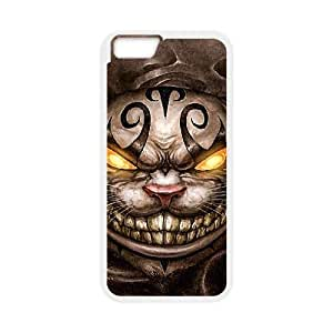 iphone6 plus 5.5 inch case,iphone6 plus 5.5 inch Cell phone case White Alice In Wonderland-Cheshire cat-PUU4878038