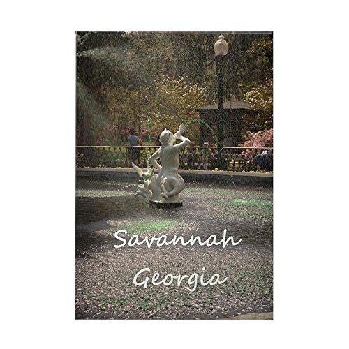 CafePress - Savannah GA greening Rectangle Magnet - Rectangle Magnet, 2