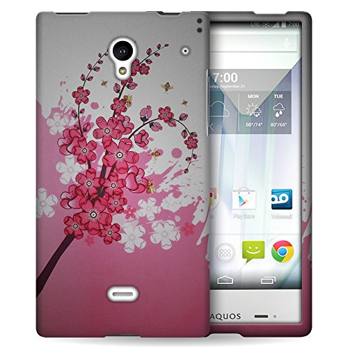 sharp aquos crystal purple case - 9