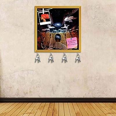 Amazon.com: Artzfolio Western America - Perchero abstracto ...