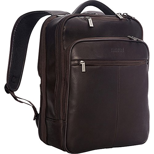 Kenneth Cole Reaction The Manhattan 16'' Colombian Leather Slim RFID Laptop by Heritage Travelware