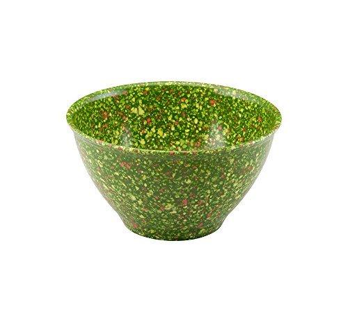 (Rachael Ray 4-Qt Green Melamine Garbage Bowl)