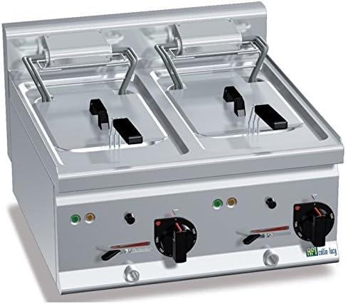 Freidora eléctrica de mesa con 1 o 2 bandeja – 2 senos: Amazon.es ...