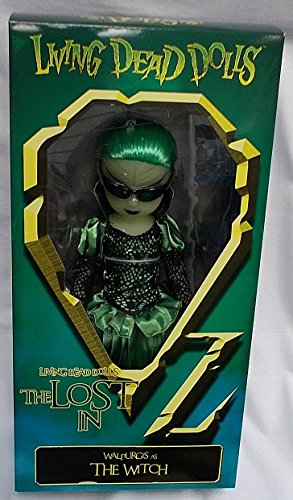 Living Dead Dolls - The Lost In OZ Exclusive Emerald City Variant - Walpurgis as The Witch Variant - Exclusive Living Dead Dolls