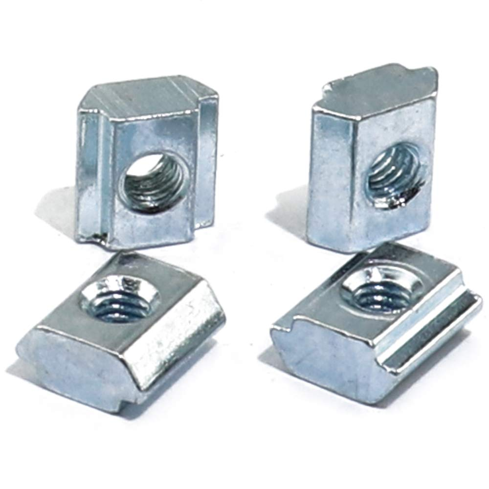 Boeray 50pcs M3 Slide in T Nut Drop in Nut for 2020 Sereis Aluminum Extrusion Profile Slot 6mm