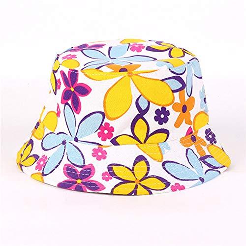 Bucket Cap Man Women Cotton Banana Hat Bob Caps Hip Hop Cool Outdoor Sports Summer Ladies Beach Sun Fishing ()