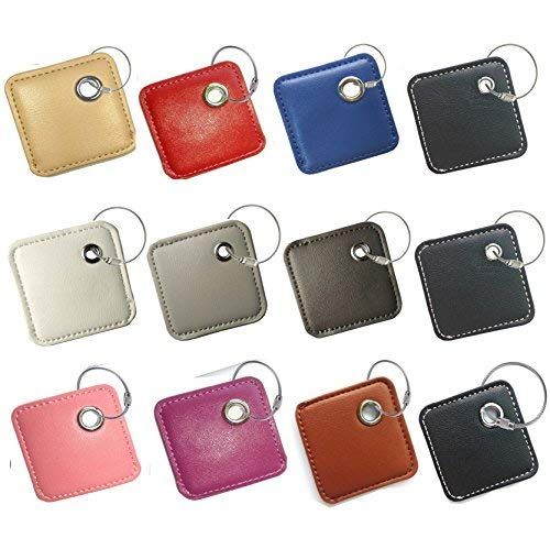 fashion key chain cover accessories for tile skin phone finder key finder item finder (only case, NO tracker included)-12pack by all4fit