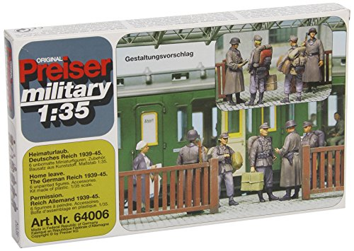 Review Preiser 64006 Military Former