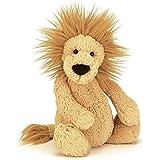 Jellycat(ジェリーキャット)バシュフル ライオン M ぬいぐるみ 座高20cm イエロー