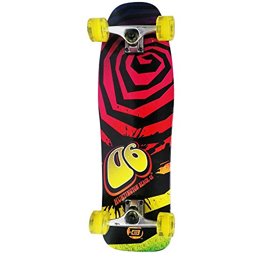 D6 SPORTS Tie Dye Pool Series Skateboard, 32