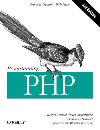 Programming PHP ISBN-13 9781449392772