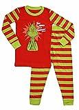 Intimo Boys' Dr Seuss The Grinch Evil Smile Pajama Set (3T)