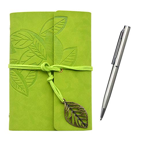 Small Pocket Notebook with Pen, 4