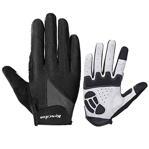 FarJing Men Women Gloves Outdoor Sports Riding Non-slip Shock Absorption Wear Mitten