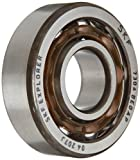 SKF 7305 BEGAP Medium Series Angular Contact Bearing, Light Preload, ABEC 1 Precision, 40° Contact Angle, Open, Polyamide/Nylon Cage, Normal Clearance, 25mm Bore, 62mm OD, 17mm Width