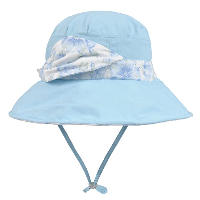 Spring Summer Ladies Outdoor Sun Protection Hats and caps for Beach Using  (Blue) 30b2d1cc262