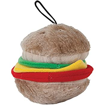 Pet Supplies : Pet Toys : Petmate 07506 Medium Burger Dog