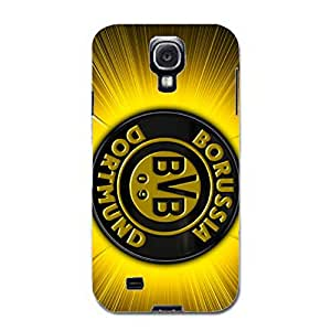 Customized Design Borussia Dortmund Phone Case 3D Phone Case Snap on Samsung Galaxy S4 I9500 Dortmund BVB Logo