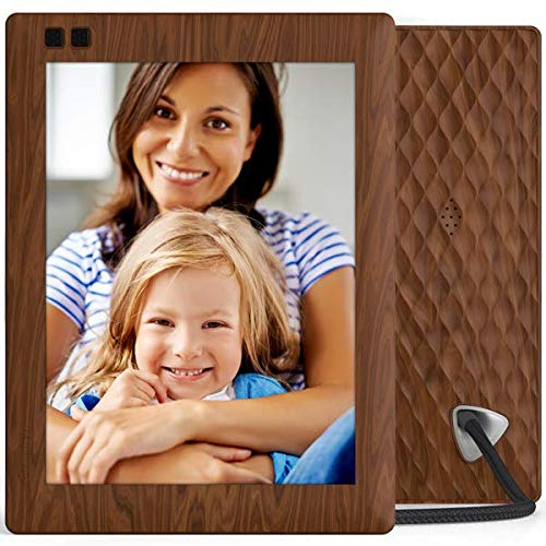 Nixplay Seed 10.1 Inch Widescreen Digital WiFi Photo Frame W10B Wood Effect - Digital Picture Frame with IPS Display and 10GB Online Storage, Display and Share Photos via Nixplay Mobile App by nixplay (Image #4)