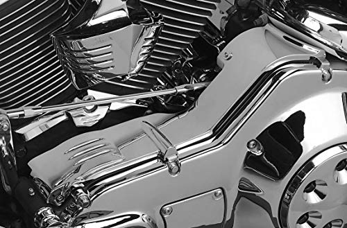 Kuryakyn Inner Primary Cover Compatible For FLHR Road King 1994-2006 - Chrome