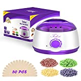 Cheap Wax Warmer,Todoxi Professional Electric Wax Heater 100W Hair Removal Kit, 4 PackWax Beans, 50 Wax Applicator Sticks