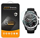[2-Pack] Supershieldz for TicWatch Pro Tempered Glass Screen Protector, (Full Screen Coverage) Anti-Scratch, Bubble Free, Lifetime Replacement Warranty