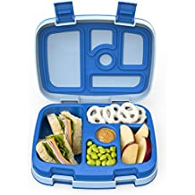 Bentgo Kids Childrens Lunch Box - Bento-styled Lunch Solution Offers Durable, Leak-proof,...