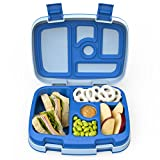 Bentgo Kids Childrens Lunch Box - Bento-Styled Lunch Solution Offers Durable, Leak-Proof, On-the-Go Meal and Snack Packing: more info