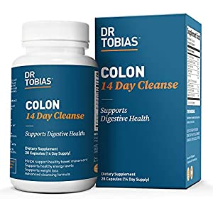 Health Shopping Dr. Tobias Colon 14 Day Cleanse Supplement, 28 Capsules
