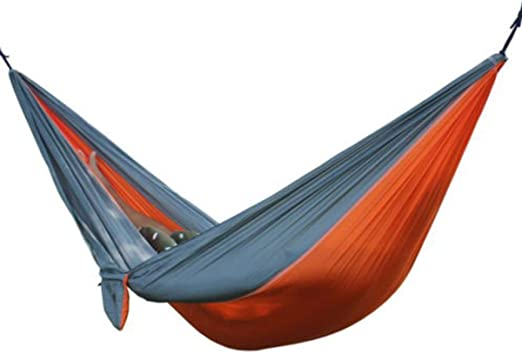 Outdoor Camping Nylon Hammock Double Parachute Hanging Bed Sleeping Swing New