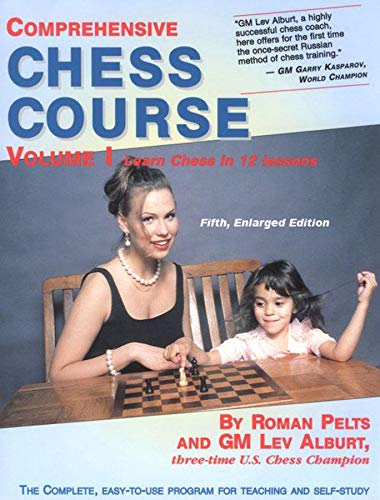 Comprehensive Chess Course: Learn Chess in 12 Lessons (Fifth Enlarged Edition)  (Vol. 1)  (Comprehensive Chess Course Series) Chess Training Pocket Book