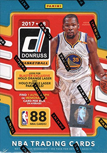 2017 Donruss Sports Legends - 2017 2018 Donruss NBA Basketball Series Unopened Blaster Box Made By Panini with 1 Autograph or Memorabilia Card Per Box!!