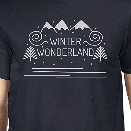 Size One 365 Wonderland para manga Winter de hombre Printing corta Camiseta xfq4w8