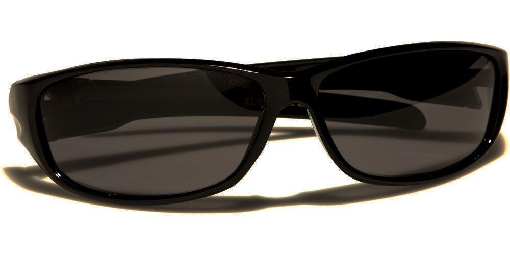 X-Loop Sportbrille Sonnenbrille Radbrille (Polarisierte) - Model: X-Loop Courcheval - UV400 (UVA & UVB) - Ultra Lightweight (Schwarz) rb1mkyUi