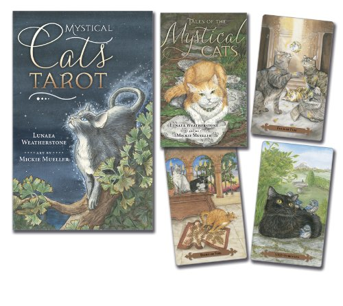 Mystical Cats Tarot (Tarot Cards): Amazon.es: Lunaea ...