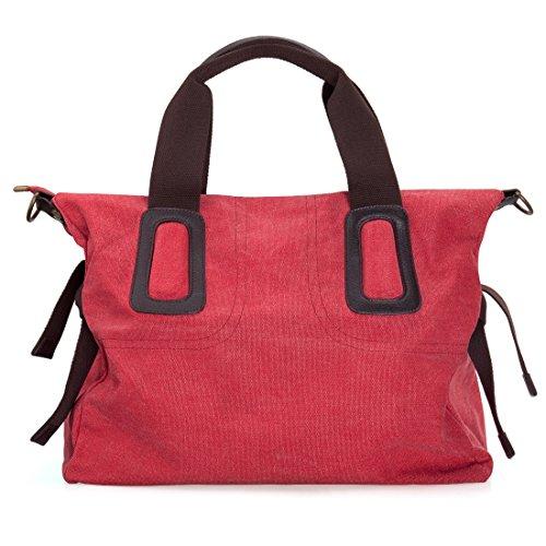 Womens Canvas Material Shopper Handbag product image