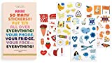 ban.do Planner Sticker Book, 35 Pages with Over 700 Assorted Stickers, Issue 5